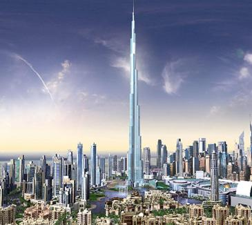Cel mai înalt turn din lume, inaugurat cu fast (VIDEO)