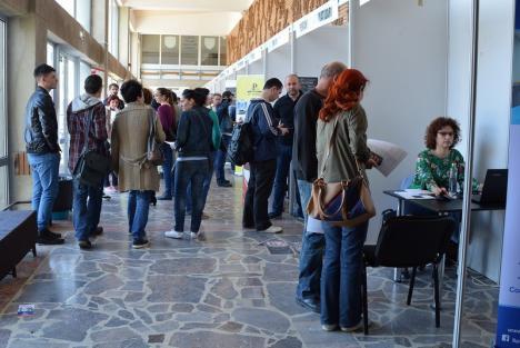 Bursa locurilor de muncă, simultan în trei oraşe din Bihor. În Oradea, 58 de patroni caută angajaţi
