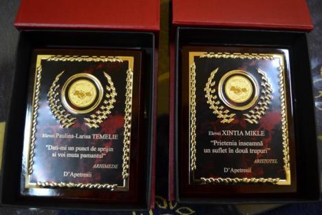 După ce au apărut în BIHOREANUL, trei liceeni cu poveşti deosebite vor primi burse de merit de câte 2.500 lei (FOTO/VIDEO)