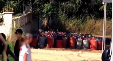 Teroriştii din Barcelona pregăteau atacuri masive: Ţineau ascunse într-o casă 120 de butelii cu gaz