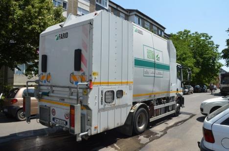 Spălarea de vară: RER Ecologic Service a reînceput spălarea şi dezinfectarea containerelor asociaţiilor de proprietari (FOTO)