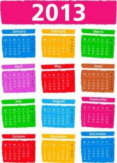 Care vor fi zilele libere prin lege în 2013