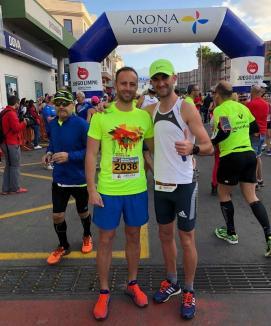 Orădeanul Călin Laza s-a situat pe locul 8 la semimaratonul din Tenerife