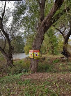 Defileul Crişului Repede, supravegheat video non-stop: Cetăţenii care vor arunca gunoaie pe malurile râului vor fi filmaţi şi amendaţi! (FOTO / VIDEO)