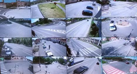 Oradea, te văd! Municipalitatea a montat peste 300 de videocamere în cartierele din oraș