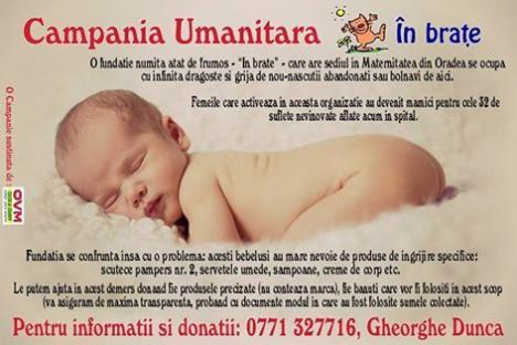 Căpitanul echipei de polo CSM Digi a demarat o campanie de ajutorare a bebeluşilor abandonaţi în Maternitate