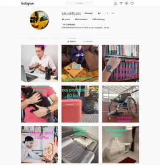 Luis Calificatu te urmăreşte pe Instagram! Experimentul Poliţiei care dovedeşte cât de uşor poţi fi 'filat' (FOTO/VIDEO)