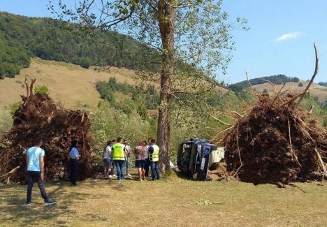 Dezastrul de la Bulz: Turiştii au fost avertizaţi cu privire la furtună, dar au preferat să rămână în camping! (FOTO/VIDEO)