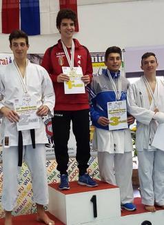 Orădeanul Raul Cherecheş, dublu campion mondial la karate