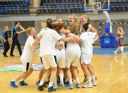 Estonia şi Finlanda au obţinut calificarea din grupele CE de baschet feminin U18. România, învinsă din nou la Timişoara