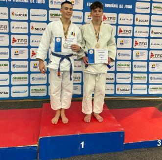 Judoka de la LPS Bihorul şi CS Crişul şi-au adjudecat cinci medalii la Naţionalele de juniori de la Braşov (FOTO)