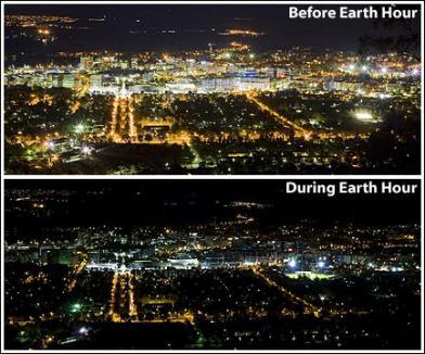 Românii fac pe dos: au aprins luminile în Ora Pământului
