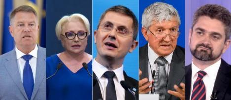 Primele declaraţii ale candidaților după exit-poll. Iohannis: 'Niciodată românii nu au votat mai clar împotriva PSD' (VIDEO)