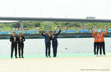 Prima medalie de aur pentru România la Jocurile Olimpice de la Tokyo: 'Pe podium am simţit fericire, mândrie' (FOTO)