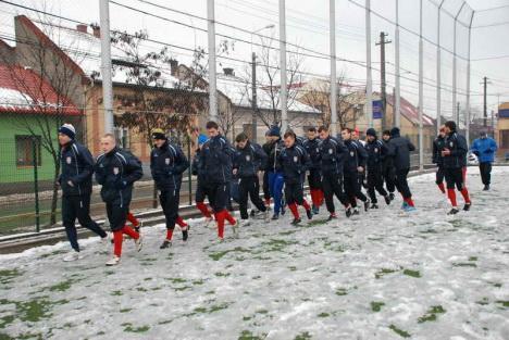 FC Bihor a plecat în cantonament
