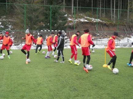 Juniorii mari de la secţia de fotbal a CSS LPS Bihorul au pregătit returul Ligii de Elită la Arieşeni