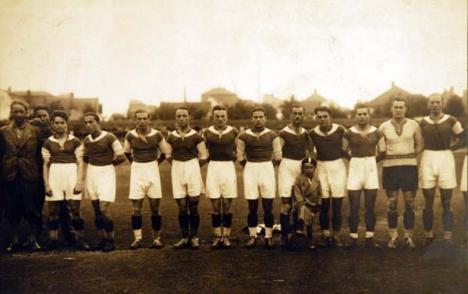 Oradea ieri, Oradea azi: În 1902, se auzea fluierul primului joc de fotbal