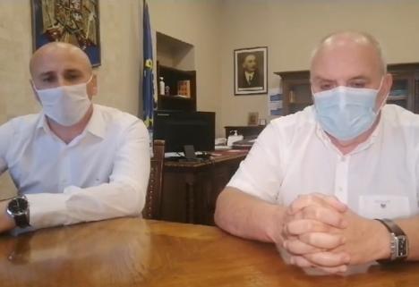 """Dr. Carp, din nou coordonator al spitalelor din Bihor, se declară 'îngrijorat de sănătatea cadrelor medicale"""". Vrea ca acestea să nu mai plece în concedii (VIDEO)"""