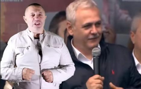 Campanie electorală 'fără număr': Nicolae Guţă a lansat o manea pentru PSD (VIDEO)