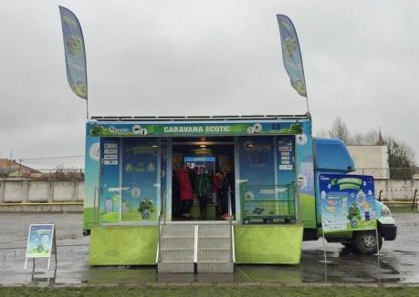 Reciclare cu caravană: Orădenii pot câştiga tablete, dacă reciclează deşeuri electrice şi electronice