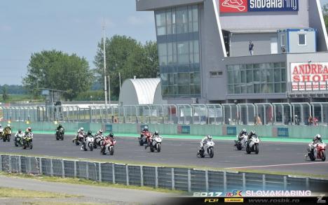 Pilotul echipei orădene Carcover Racing Team s-a impus în etapa din Cehia a campionatului de motociclism viteză RoSbk (FOTO)