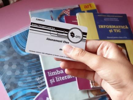 OTL: Carduri de călătorie pentru elevi