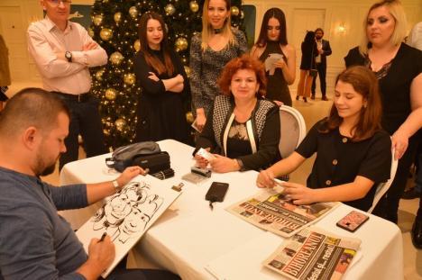 Avram Iancu te vede! BIHOREANUL vă prezintă povestea artistului cu nume celebru care face, la minut, caricaturi memorabile (FOTO)
