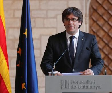 Exil pe terminate: Carles Puigdemont s-a predat poliției belgiene