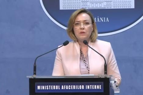 Ministrul de Interne Carmen Dan, în audieri la DNA