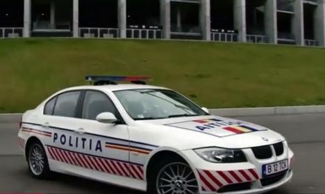 Flota de lux a Poliţiei Rutiere: un Porsche Carerra, câteva zeci de Audi A4 și BMW seria 3