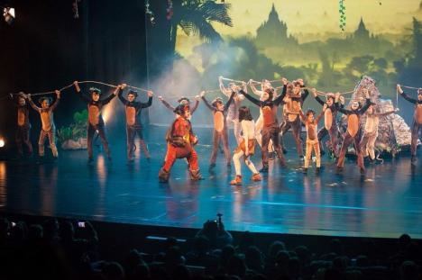 'Cartea Junglei', un musical pentru toată familia, la Oradea (VIDEO)