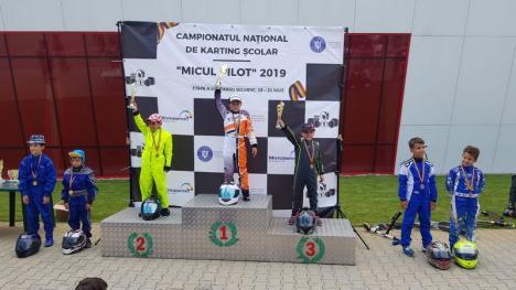 Două locuri I şi un loc II pentru bihoreni la etapa a III-a a Campionatului Naţional de Karting CNKS (FOTO)