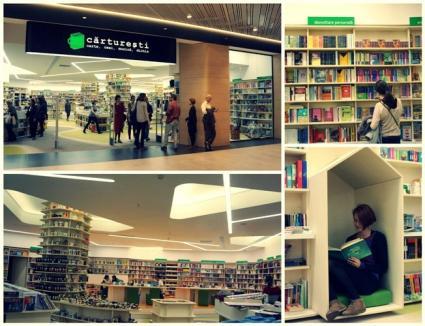 Veste bună pentru iubitorii de carte din Oradea: În curând se deschide Librăria Cărtureşti