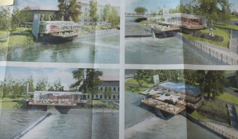 Casa... Lotusului: Lotus Center va amenaja un restaurant în fosta Casă a Pompelor