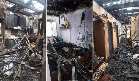 Nu vă lăsaţi păcăliţi! Au apărut şi escrocii care fac bani de pe drama familiei căreia i-a ars casa în Sântandrei