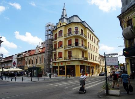 Încă un palat orădean refăcut! Casa Kolozsváry din strada Iosif Vulcan nr. 2 a fost reabilitată