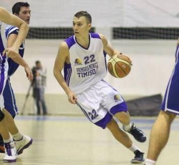 Un nou transfer la CSM CSU Oradea: Cătălin Petrişor, care a evoluat ultima dată la BC Timişoara