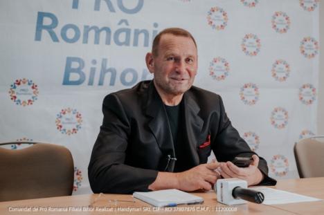 Viorel Cataramă s-a îndrăgostit de Oradea, dar nu şi de Bolojan: 'Oraşul merită să fie inclus în patrimoniul UNESCO'