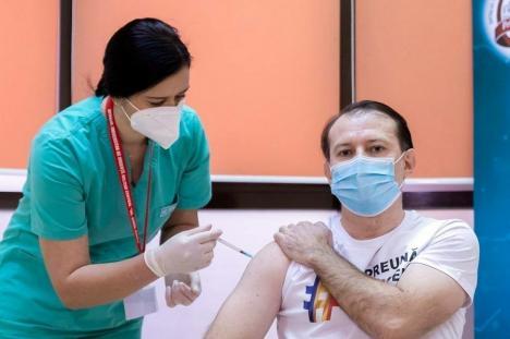 Premierul Cîţu: 'România primeşte 2,6 milioane de doze de vaccin numai în luna martie'