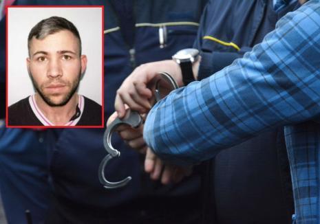 Condamnat în octombrie, prins în aprilie. Un hoţ urmărit naţional a fost încarcerat la Oradea