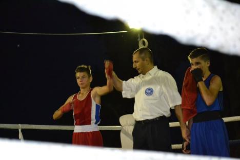 Pugiliştii din Budapesta au dominat întrecerile turneului de la Salonta dotat cu Cupa Bihorul (FOTO)