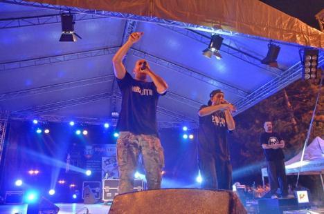 Poftă de distracţie: Orădenii au umplut Parcul 1 Decembrie la Festivalul Berii şi au cântat cu Paraziţii (FOTO/VIDEO)