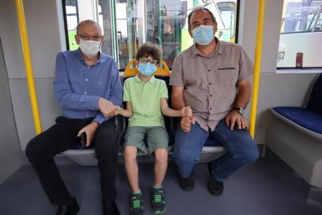 Micul 'vatman': Povestea lui Cedrin, băiețelul pasionat de tramvaie care și-a făcut site de unul singur (FOTO / VIDEO)