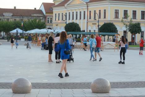 Situaţia Covid la zi: Peste 500 de cazuri active în Oradea, unde incidenţa a ajuns la 2,32 la mie. Mai multe paturi ATI Covid