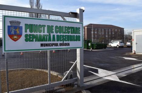 Aruncaţi aici! RER Vest redeschide centrele de colectare separată a deşeurilor, din Oradea