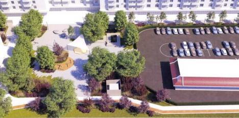 Centrul de cartier din Nufărul va fi amenajat de firma Gavella pentru 6,7 milioane lei (FOTO)