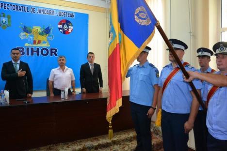 Şefi noi la Jandarmeria Bihor: Inspector şef este maiorul Ioan Bogdan, fost purtător de cuvânt al instituţiei