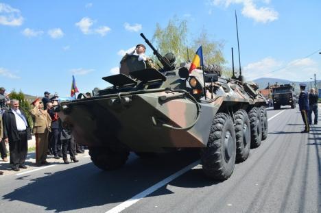 Armata Română a intrat în Bihor: Reconstituirea momentelor de acum 100 de ani a început la Piatra Craiului (FOTO / VIDEO)