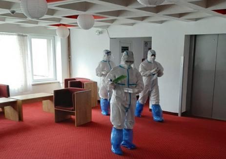 Locul în care au fost internaţi cei mai mulţi bolnavi de Covid-19 din Bihor: Prefectura publică imagini din hotelul-spital Ceres (FOTO)