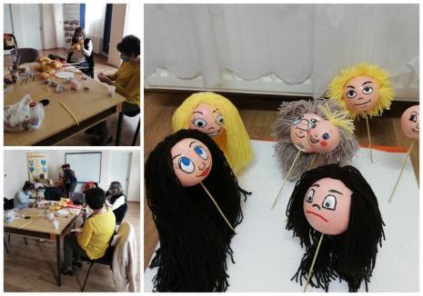 """""""În spatele măştii sunt eu"""": Copii orădeni cu cerinţe educaţionale speciale se pregătesc să devină actori"""